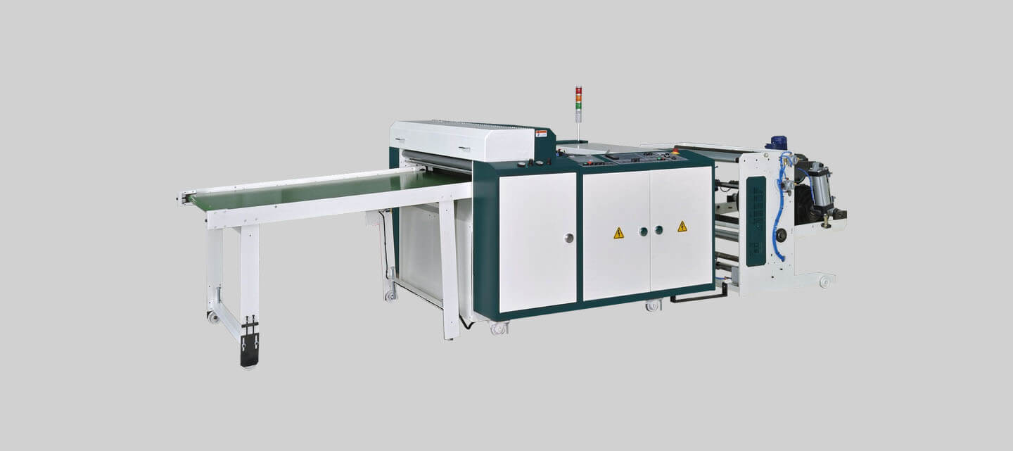 Highspeed tensionless thick gauge bottom seal bag making machine + servo-driven flying knife system