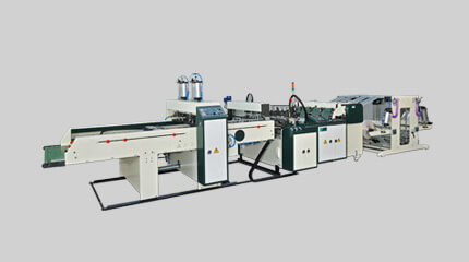 Flexible twin-servo high-speed T-shirt bag making machine (Hot-cut system) 2 & 4 lines