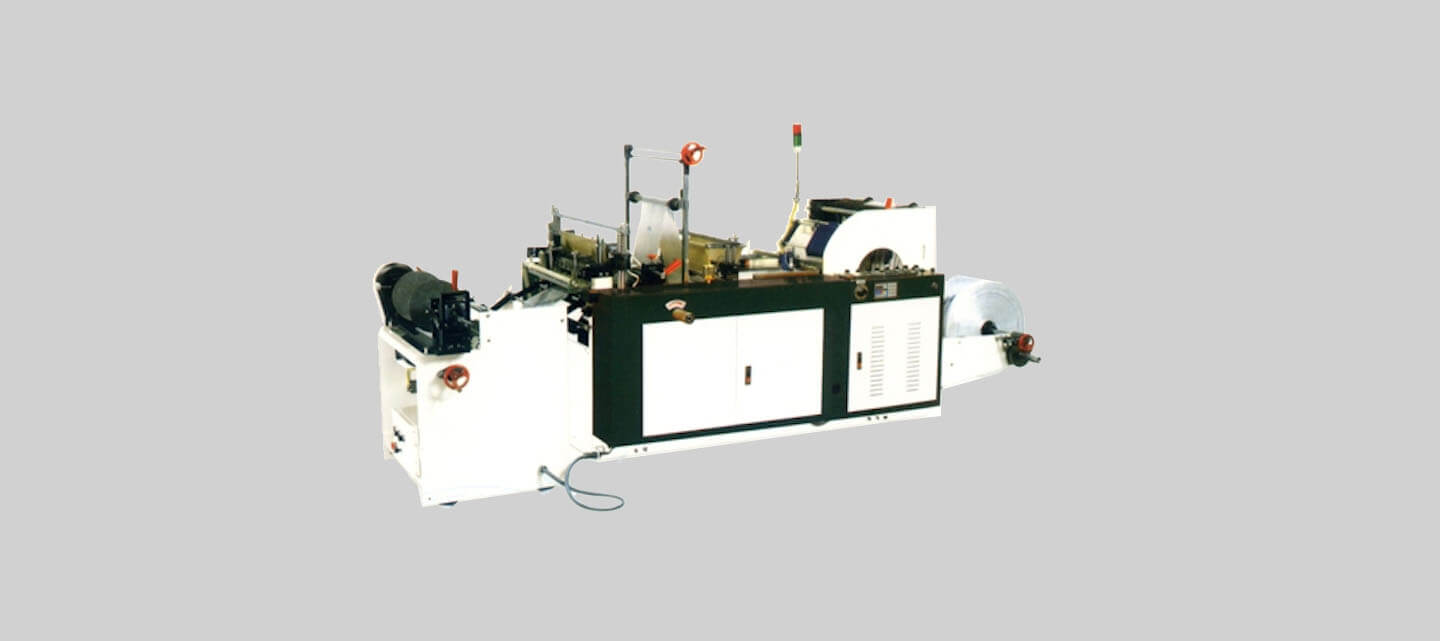 Semi-auto tensionless bag on roll making machine (manual roll change)