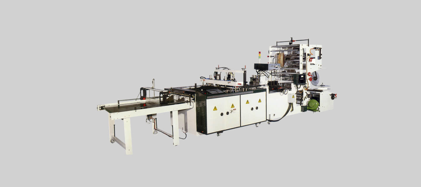 Side seal bag making machine