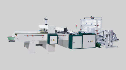 Twin-line deli bag making machine