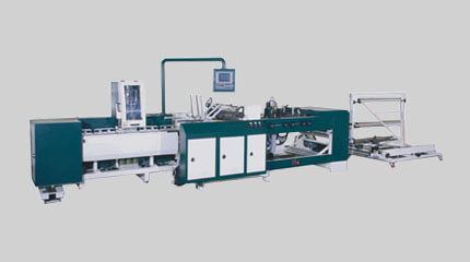 Side seal bag making machine & wicketer system
